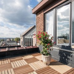 Отель Agenda Louise Брюссель балкон