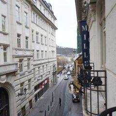 Отель La Prima Fashion Hotel Венгрия, Будапешт - 12 отзывов об отеле, цены и фото номеров - забронировать отель La Prima Fashion Hotel онлайн балкон