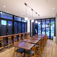 Отель APA Hotel Kodemmacho-Ekimae Япония, Токио - 2 отзыва об отеле, цены и фото номеров - забронировать отель APA Hotel Kodemmacho-Ekimae онлайн питание фото 2
