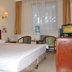 Отель Hejia Inn Beijing Anwai комната для гостей фото 3