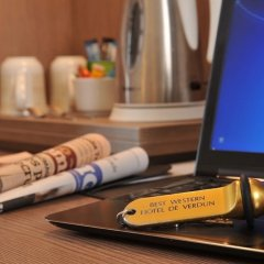 Отель Best Western Hotel De Verdun Франция, Лион - отзывы, цены и фото номеров - забронировать отель Best Western Hotel De Verdun онлайн интерьер отеля фото 3