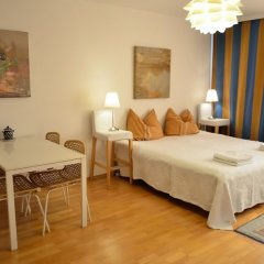 Апартаменты GoVienna Urban Living Belvedere Apartment комната для гостей фото 2