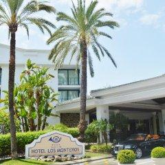 Отель Los Monteros Spa & Golf Resort парковка