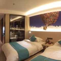 Отель H Hotel (Xi'an Ming City Wall Ximenwai) Китай, Сиань - отзывы, цены и фото номеров - забронировать отель H Hotel (Xi'an Ming City Wall Ximenwai) онлайн комната для гостей фото 4