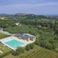 Отель Camping Boschetto Di Piemma Италия, Сан-Джиминьяно - отзывы, цены и фото номеров - забронировать отель Camping Boschetto Di Piemma онлайн бассейн фото 3
