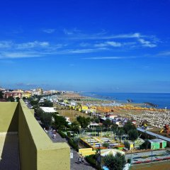 Hotel Colombo Римини пляж фото 2