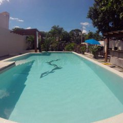 Отель Sayab Hostel Мексика, Плая-дель-Кармен - отзывы, цены и фото номеров - забронировать отель Sayab Hostel онлайн бассейн