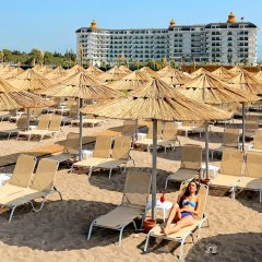 Отель Heaven Beach Resort & Spa - All Inclusive - Adults Only Сиде пляж