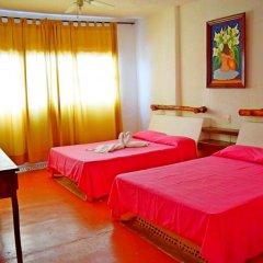 Hotel Corona Zihua Сиуатанехо комната для гостей фото 3