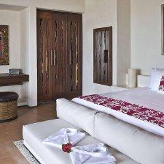 Отель Las Palmas Beachfront Villas Мексика, Коакоюл - отзывы, цены и фото номеров - забронировать отель Las Palmas Beachfront Villas онлайн комната для гостей фото 5