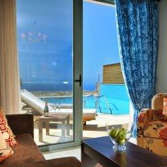 Отель Royal Heights Resort Villas & Spa Греция, Малия - отзывы, цены и фото номеров - забронировать отель Royal Heights Resort Villas & Spa онлайн комната для гостей фото 5