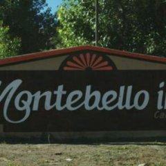 Отель Cabañas Montebello Inn Креэль парковка