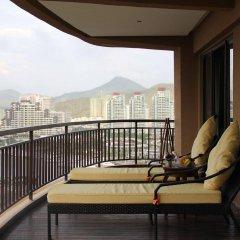 Отель Grand Metropark Bay Hotel Sanya Китай, Санья - отзывы, цены и фото номеров - забронировать отель Grand Metropark Bay Hotel Sanya онлайн балкон