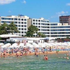 Отель Globus - Half Board Болгария, Солнечный берег - отзывы, цены и фото номеров - забронировать отель Globus - Half Board онлайн пляж фото 2