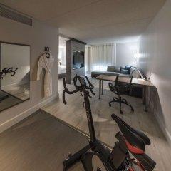 Отель Hôtel & Suites Normandin Канада, Квебек - отзывы, цены и фото номеров - забронировать отель Hôtel & Suites Normandin онлайн фитнесс-зал