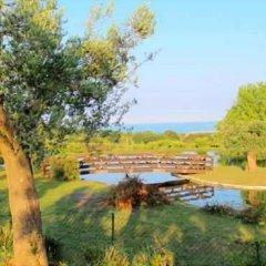 Отель B&B La Casa tra gli Ulivi Чивитанова-Марке приотельная территория