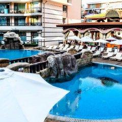 Отель Karolina complex Болгария, Солнечный берег - отзывы, цены и фото номеров - забронировать отель Karolina complex онлайн бассейн фото 2