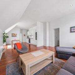 Отель Aalesund Apartments - City Center Норвегия, Олесунн - отзывы, цены и фото номеров - забронировать отель Aalesund Apartments - City Center онлайн комната для гостей фото 5