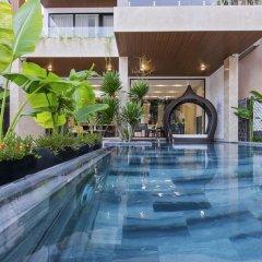 Отель Khong Cam Garden Villas Хойан бассейн фото 2