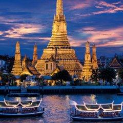Отель The Peninsula Bangkok Таиланд, Бангкок - 1 отзыв об отеле, цены и фото номеров - забронировать отель The Peninsula Bangkok онлайн приотельная территория фото 2