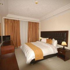 Отель Sharah Mountains Hotel Иордания, Вади-Муса - отзывы, цены и фото номеров - забронировать отель Sharah Mountains Hotel онлайн комната для гостей фото 2