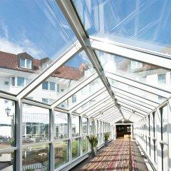 Отель Leonardo Hamburg Airport Гамбург вид на фасад