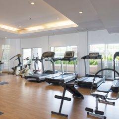Отель B.U. Place Бангкок фитнесс-зал