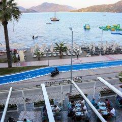 B&B Yüzbasi Beach Hotel Мармарис бассейн