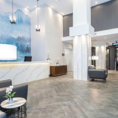 Отель Sandman Hotel Calgary City Centre Канада, Калгари - отзывы, цены и фото номеров - забронировать отель Sandman Hotel Calgary City Centre онлайн интерьер отеля фото 2