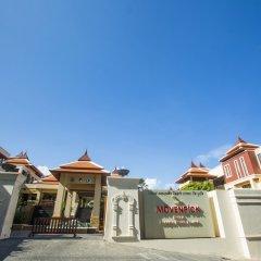 Отель Movenpick Resort Bangtao Beach Пхукет парковка