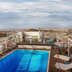Отель St George Lycabettus Греция, Афины - отзывы, цены и фото номеров - забронировать отель St George Lycabettus онлайн бассейн фото 3