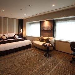 Отель Ana Crowne Plaza Fukuoka Хаката комната для гостей фото 4