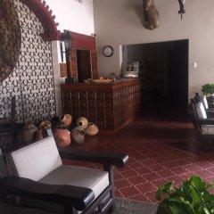 Отель Parador Santa Cruz Мексика, Креэль - отзывы, цены и фото номеров - забронировать отель Parador Santa Cruz онлайн интерьер отеля фото 2
