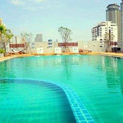 Отель Sathorn Grace Serviced Residence Таиланд, Бангкок - отзывы, цены и фото номеров - забронировать отель Sathorn Grace Serviced Residence онлайн бассейн фото 3