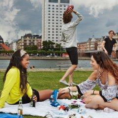 Отель Danhostel Copenhagen City - Hostel Дания, Копенгаген - 1 отзыв об отеле, цены и фото номеров - забронировать отель Danhostel Copenhagen City - Hostel онлайн фитнесс-зал фото 4