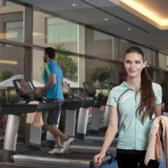 Отель Swissotel Al Ghurair Dubai Дубай фитнесс-зал фото 4