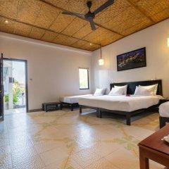Отель Hoi An Corn Riverside Villa комната для гостей