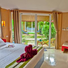 Отель Angel Green Garden Bungalows Самуи комната для гостей