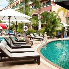 Отель Karon Sea Sands Resort & Spa Таиланд, Пхукет - 3 отзыва об отеле, цены и фото номеров - забронировать отель Karon Sea Sands Resort & Spa онлайн бассейн фото 3