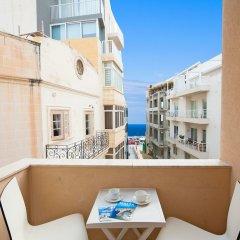 Отель Alborada Apart Hotel Мальта, Слима - отзывы, цены и фото номеров - забронировать отель Alborada Apart Hotel онлайн балкон
