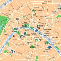 Отель Eiffel Seine Париж городской автобус