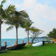 Отель Paradise Ocean View Бангламунг приотельная территория