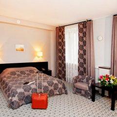 Отель Skyport Обь комната для гостей фото 3