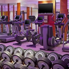 Отель Le Méridien Wien Австрия, Вена - 2 отзыва об отеле, цены и фото номеров - забронировать отель Le Méridien Wien онлайн фитнесс-зал фото 4