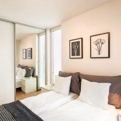 Апартаменты Stavanger Small Apartments Ставангер комната для гостей фото 5