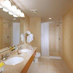 Отель Deerfoot Inn & Casino Канада, Калгари - отзывы, цены и фото номеров - забронировать отель Deerfoot Inn & Casino онлайн ванная