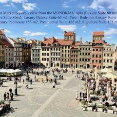 Отель Luxury Apartments MONDRIAN Market Square Польша, Варшава - отзывы, цены и фото номеров - забронировать отель Luxury Apartments MONDRIAN Market Square онлайн фото 3
