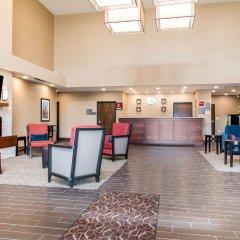 Отель Comfort Suites Columbus Airport США, Колумбус - отзывы, цены и фото номеров - забронировать отель Comfort Suites Columbus Airport онлайн интерьер отеля