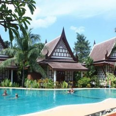 Отель Thai Ayodhya Villas & Spa Hotel Таиланд, Самуи - 1 отзыв об отеле, цены и фото номеров - забронировать отель Thai Ayodhya Villas & Spa Hotel онлайн бассейн фото 3