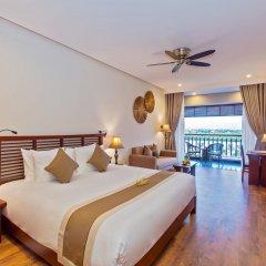 Отель Silk Sense Hoi An River Resort Вьетнам, Хойан - отзывы, цены и фото номеров - забронировать отель Silk Sense Hoi An River Resort онлайн комната для гостей фото 2
